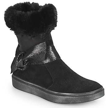 Chaussures Fille Bottes ville GBB EVELINA Noir