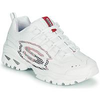 Chaussures Femme Baskets basses Skechers ENERGY/SKY VISION Blanc