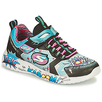 Chaussures Femme Baskets basses Skechers DYNAMIGHT/HERO STATUS Multicolore