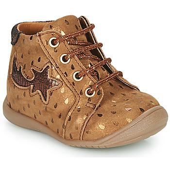 Chaussures Fille Baskets montantes GBB POMME Marron