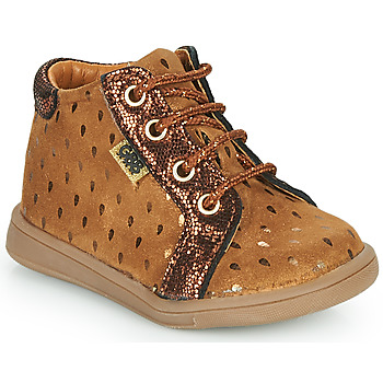 Chaussures Fille Baskets montantes GBB FAMIA Marron