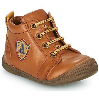 Chaussures Garçon Baskets montantes GBB EDWIN Marron