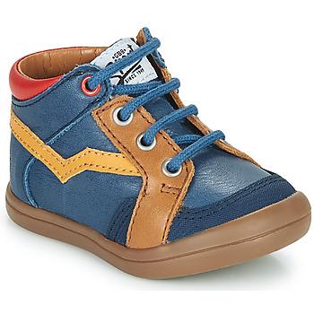 Chaussures Garçon Baskets montantes GBB ASTORY Bleu