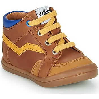 Chaussures Garçon Baskets montantes GBB ASTORY Marron