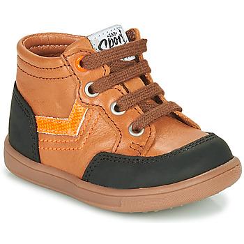 Chaussures Garçon Baskets montantes GBB VIGO Marron