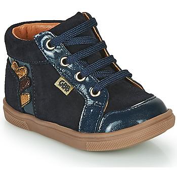 Chaussures Fille Baskets montantes GBB TERRA Bleu