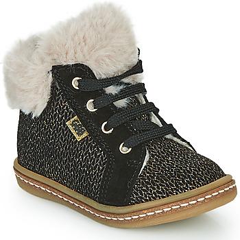 Chaussures Fille Baskets montantes GBB JUNA Noir