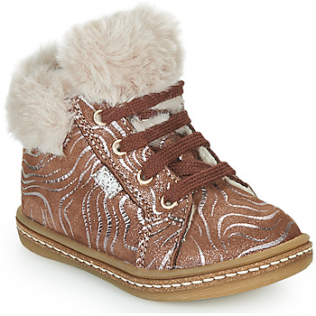 Chaussures Fille Baskets montantes GBB JUNA Beige