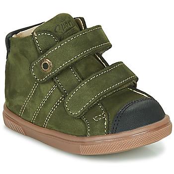 Chaussures Garçon Baskets montantes GBB KERWAN Vert