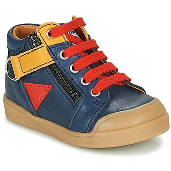 Chaussures Garçon Baskets montantes GBB TIMOTHE Bleu