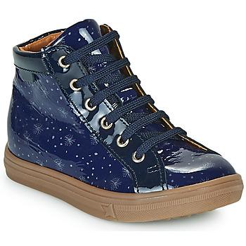 Chaussures Fille Baskets montantes GBB PHILEMA Bleu