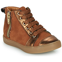 Chaussures Fille Baskets montantes GBB SAVIA Marron