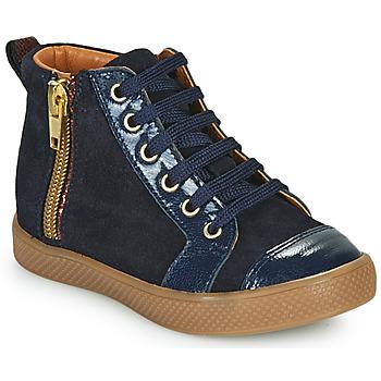 Chaussures Fille Baskets montantes GBB SAVIA Bleu