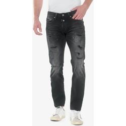 Vêtements Homme Jeans droit Japan Rags Gazhar 700/11 slim jeans destroy noir n°1 BLACK / BLACK