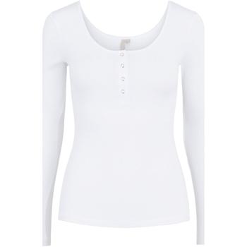 Vêtements Femme T-shirts manches longues Pieces 17101437 Blanc