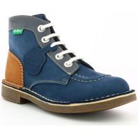 Chaussures Enfant Boots Kickers Kick Col MARINE