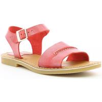 Chaussures Femme Sandales et Nu-pieds Kickers Tangola ROUGE