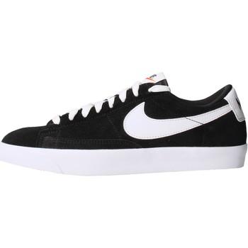 Chaussures Homme Baskets mode Nike - Blazer low prm nero/bco 538402-004 NERO