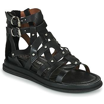 Chaussures Femme Sandales et Nu-pieds Airstep / A.S.98 POLA FLASH Noir