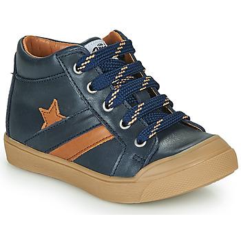 Chaussures Garçon Baskets montantes GBB LEON Bleu