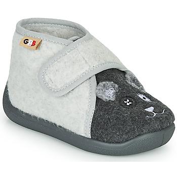Chaussures Fille Chaussons GBB APOCHOU Noir