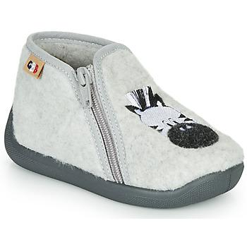 Chaussures Fille Chaussons GBB APOPOTAM Gris