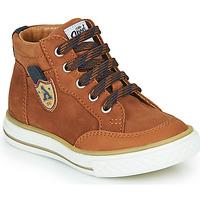 Chaussures Garçon Baskets montantes GBB NATHAN Marron