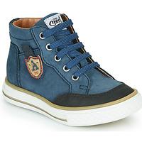 Chaussures Garçon Baskets montantes GBB NATHAN Bleu