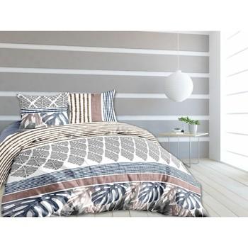 Maison & Déco Housses de couettes Oonook Parure de housse de couette 240x220 coton Panama Blanc