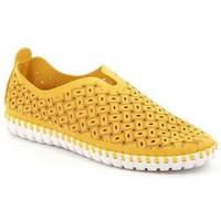 Chaussures Femme Slip ons Grunland SLIP-ON GRÜNLAND - MAGI 4913 JAUNE jaune