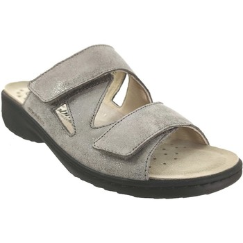 Chaussures Femme Mules Mobils By Mephisto Geva Taupe