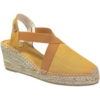 Chaussures Femme Espadrilles Toni Pons Ter Jaune