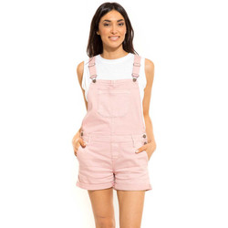 Vêtements Femme Combinaisons / Salopettes Waxx Salopette joggjean ATLANTIC Rose