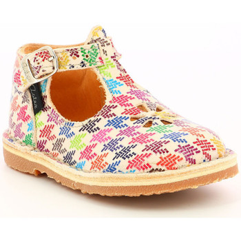 Chaussures Fille Boots Aster Bimbo BLANC