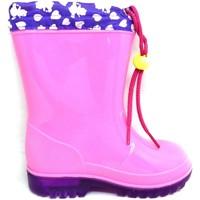 Chaussures Garçon Bottes de pluie Easy Shoes - Stivale rosa BNP7207-06 ROSA