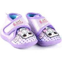 Chaussures Garçon Chaussons bébés Easy Shoes - Pantofola viola LOP7749 VIOLA