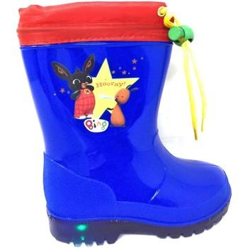 Chaussures Garçon Bottes de pluie Easy Shoes - Stivale azzurro BNP7205-09 BLU