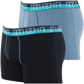Sous-vêtements Homme Boxers Athena ULTRA SOFT Noir