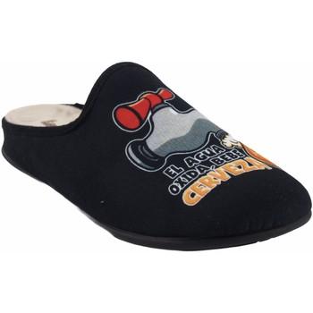 Chaussures Homme Chaussons Vulca Bicha Go home gentleman  1824 noir Noir