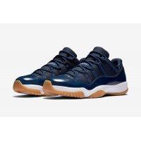 Chaussures Baskets basses Nike Air Jordan 11 Low Navy Gum Midnight Navy / White - Light Gum Brown