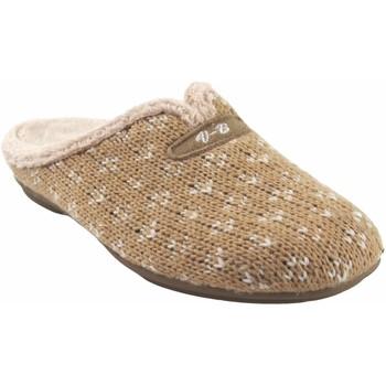Chaussures Femme Chaussons Vulca Bicha maison dame  4324 beige Marron