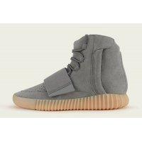 Chaussures Baskets montantes adidas Originals Yeezy 750 Boost Grey Gum  Light Grey/Light Grey/Gum