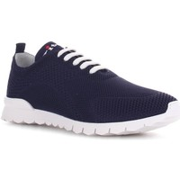 Chaussures Homme Baskets basses Kiton USSFITSN008090200N Bleu
