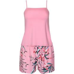 Vêtements Femme Pyjamas / Chemises de nuit Lisca Pyjama short débardeur Harper Rose