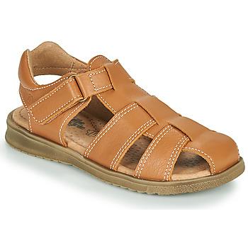 Chaussures Garçon Sandales et Nu-pieds Citrouille et Compagnie MELTOUNE Marron