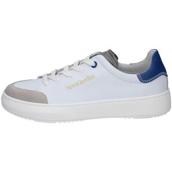 Chaussures Garçon Baskets basses NeroGiardini E133970M Blanc