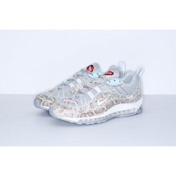 Chaussures Baskets basses Nike Air Max 98 x Supreme Snakeskin Cream/Reflect Silver/White/White