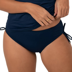 Vêtements Femme Maillots de bain séparables Sun Playa Culotte de bain à nouettes Marine Bleu