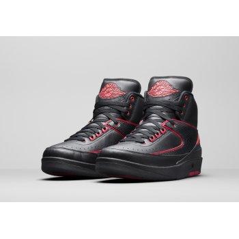 Chaussures Baskets montantes Nike Air Jordan 2 Alternate 87 Black/Gym Red-Black