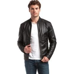 Vêtements Homme Vestes en cuir / synthétiques Chyston ZUZARTE Noir